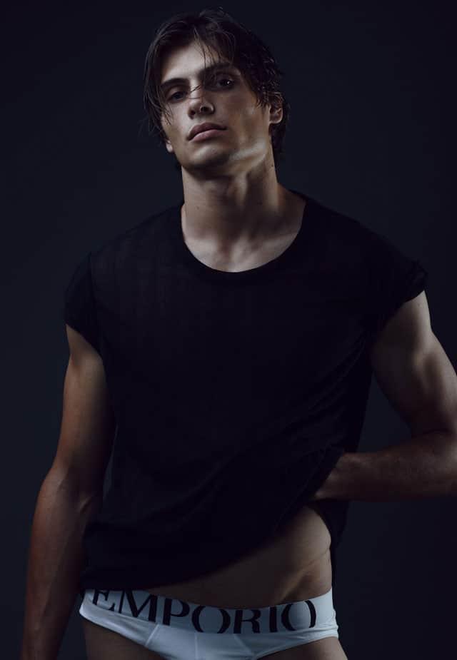 Efifo - מגזין אופנה ישראלי, דוגמן: אנטון דוידסון, סוכנות Mc2 Model Management, צילום: משה אהרון -