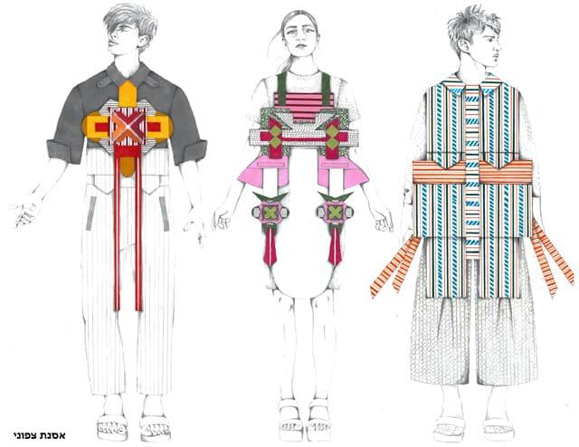 אסנת צפוני, המחלקה לעיצוב אופנה בשנקר מחזור 2018
