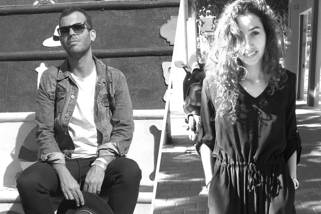 סיוון חליווה וארז עובדיה. צילום: יח״צ - 1. Efifo - מגין אופנה ישראלי