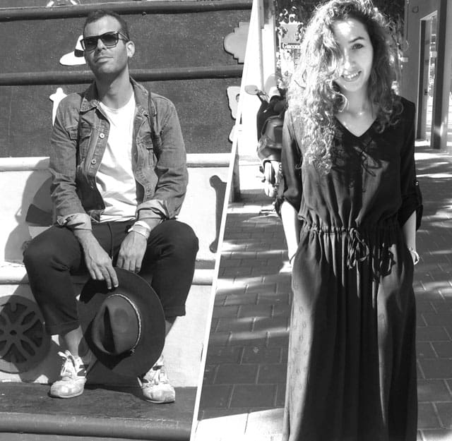 סיוון חליווה וארז עובדיה. צילום: יח״צ. Efifo - מגין אופנה ישראלי