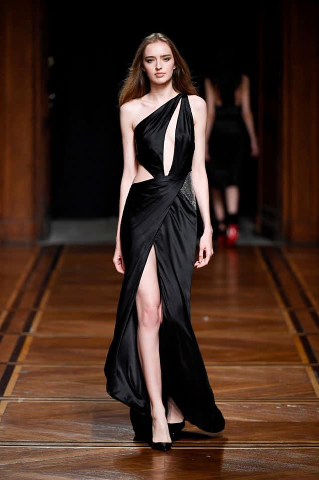בצילום: מתצוגת האופנה של גליה להב. שבוע קוטור, פריז 2018. צילום: יח״צ - 7
