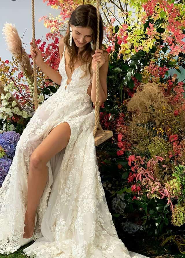 גליה להב שמלות כלה, גליה להב שמלת כלה, שבוע אופנת כלות בניו יורק. צילום אינסטגרם, שמלת כלה של גליה להב, אופנה, מגזין אופנה, מגזין אופנה ישראלי - 2