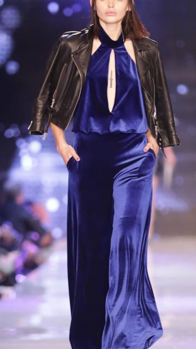 בצילום: שמלת ערב של גליה להב. צילום: יח״צ