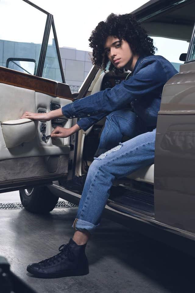 חולצה ומכנסיים: LEE, נעליים FOOT LOKER, דוגמן: מתן רפאל ל-Passion Management