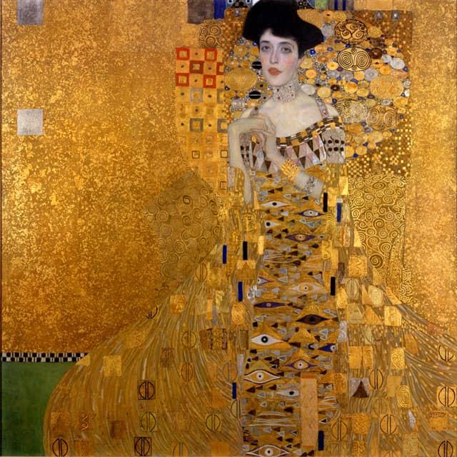 דיוקנה של אדלה בלוך באואר, Gustav Klimt, גוסטב קלימט