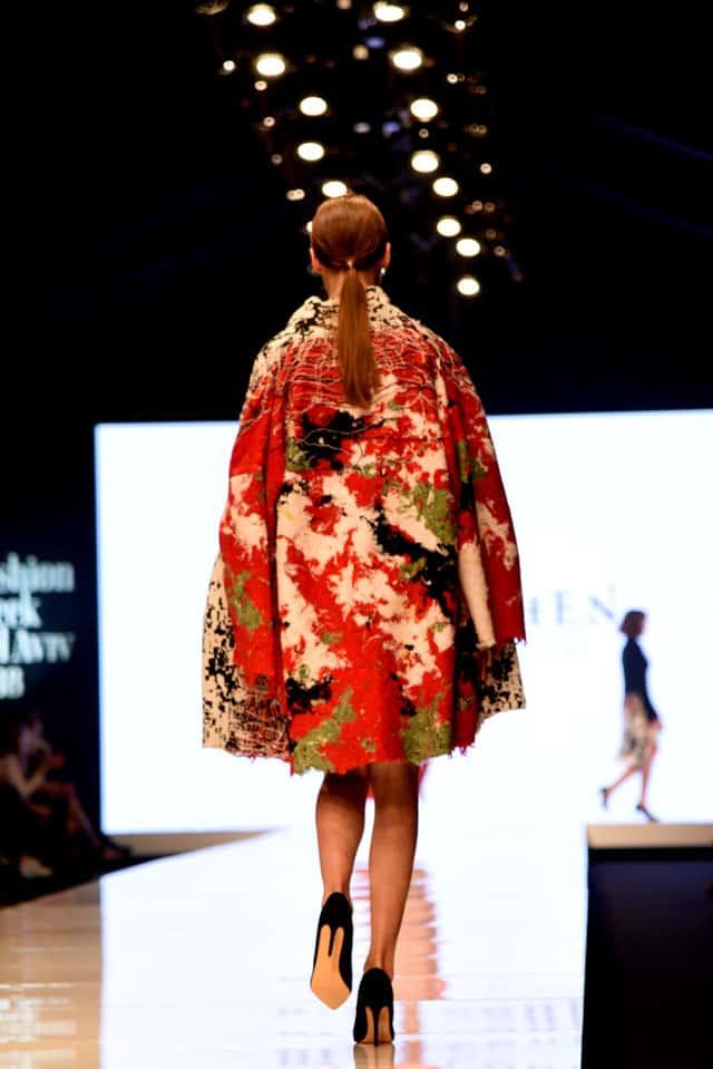 שבוע האופנה תל אביב. דנה כהן. צילום: לימור יערי - 1