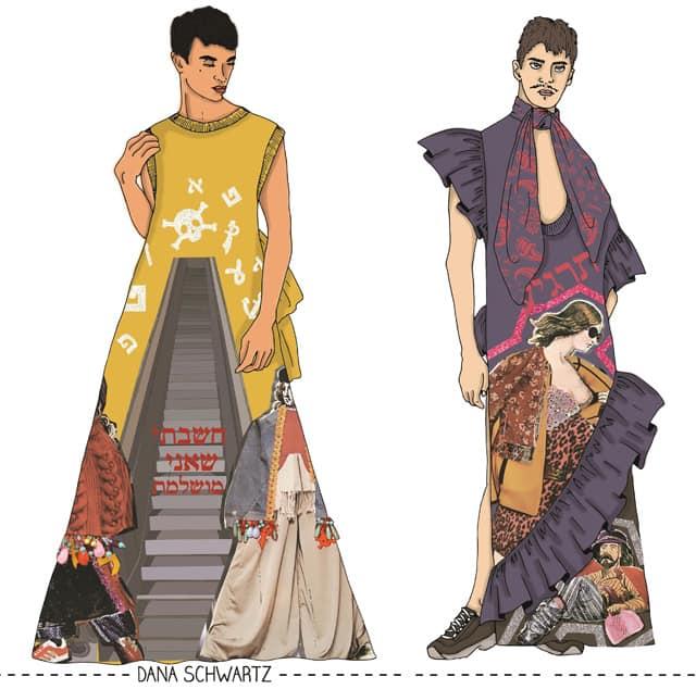דנה שורץ, המחלקה לעיצוב אופנה בשנקר מחזור 2018