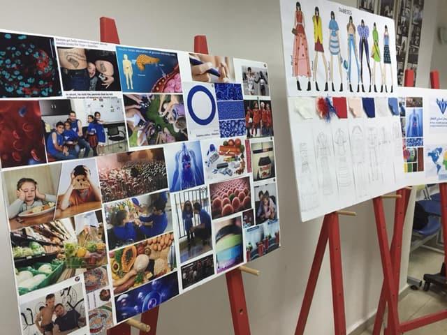 סוכרת נעורים. פרויקט אופנה של חנאן אחמד, המחלקה לעיצוב אופנה - המרכז האקדמי ויצו חיפה. צילום: יח״צ, אופנה, מגזין אופנה, מגזין אופנה ישראלי -
