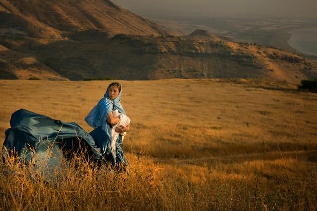 בתמונה: יהושבע אשת יהוידע הכהן. צילום: דיקלה לאור