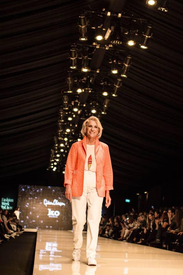 תצוגת האופנה של גדעון וקארן אוברזון. שבוע האופנה תל אביב 2018. צילום: יונתן אזולאי - 3