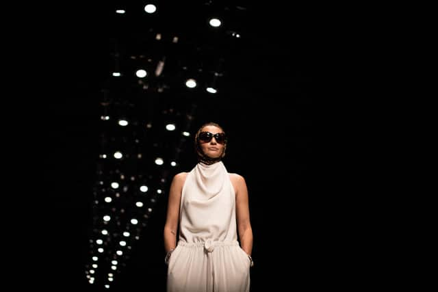 בצילום: עידן לרוס. שבוע האופנה תל אביב 2018. צילום: יונתן אזולאי - 6