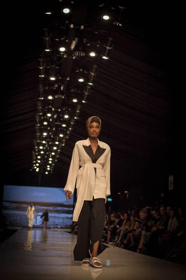 בצילום: עידן לרוס. שבוע האופנה תל אביב 2018. צילום: יונתן אזולאי - 5