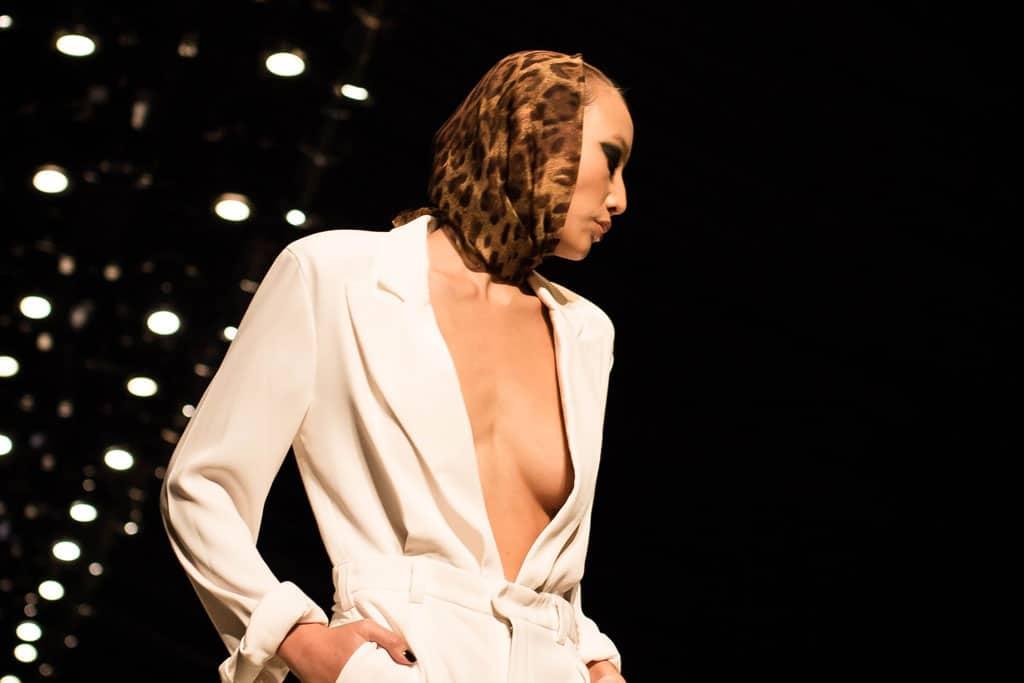 בצילום: עידן לרוס. שבוע האופנה תל אביב 2018. צילום: יונתן אזולאי -
