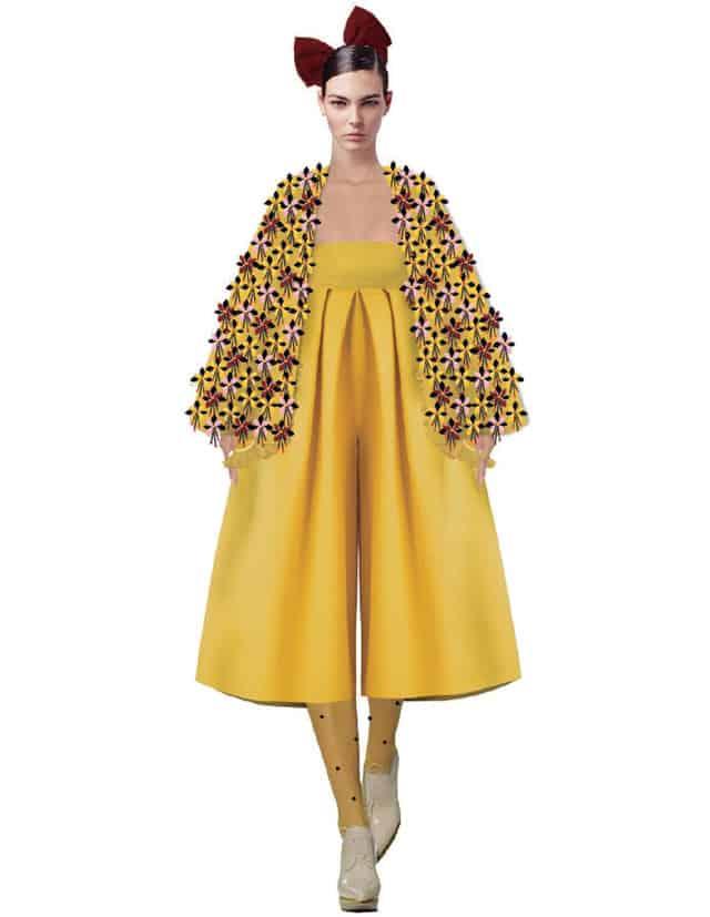 ליטל אופיר, המחלקה לעיצוב אופנה בשנקר מחזור 2018