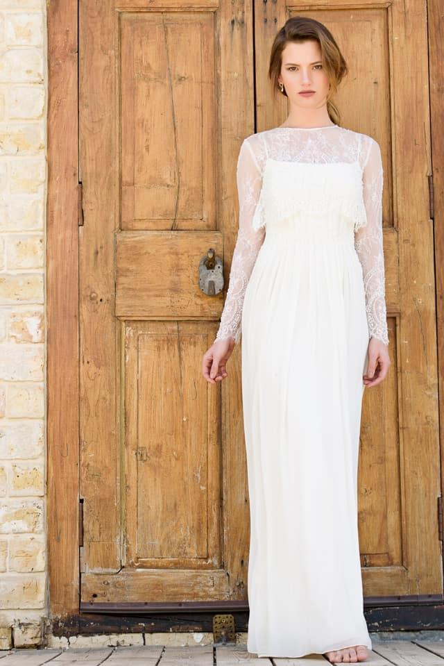 Efifo, מגזין אופנה ישראלי - יריד מקודשת. שמלות כלה של אלה עובד, החל מ-2000 שקל. צילום: מייק מור