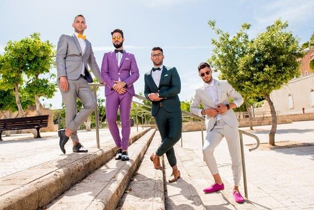 Efifo, מגזין אופנה ישראלי - יריד החתונות מרילנד. חליפות חתן באדיבות דניאל שלו. צילום: יח״צ