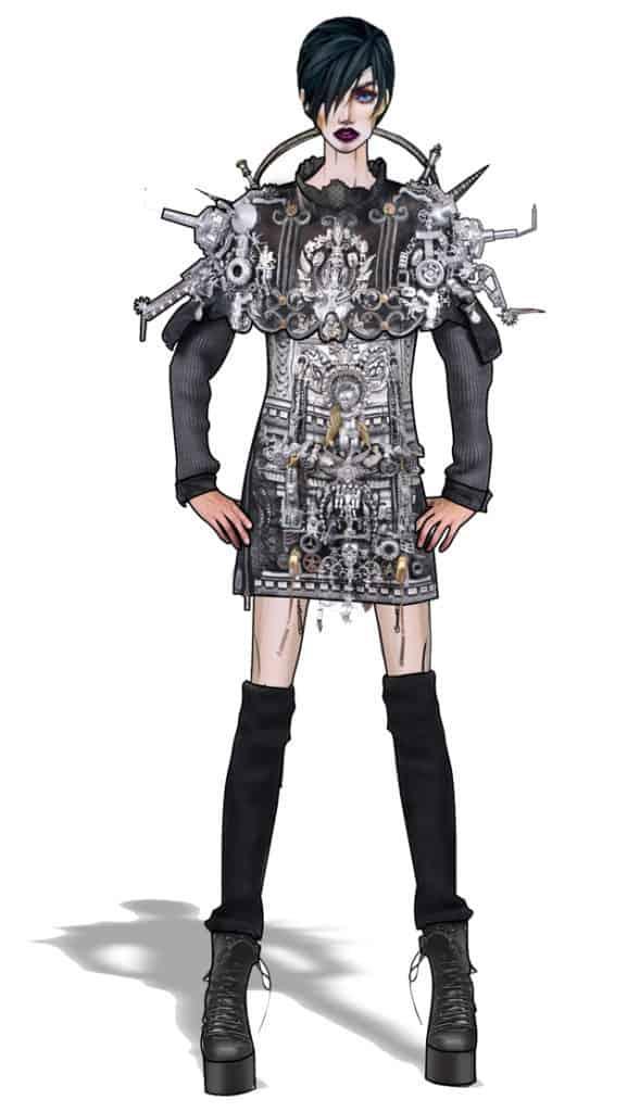 סתיו הופמן, המחלקה לעיצוב אופנה בשנקר מחזור 2018