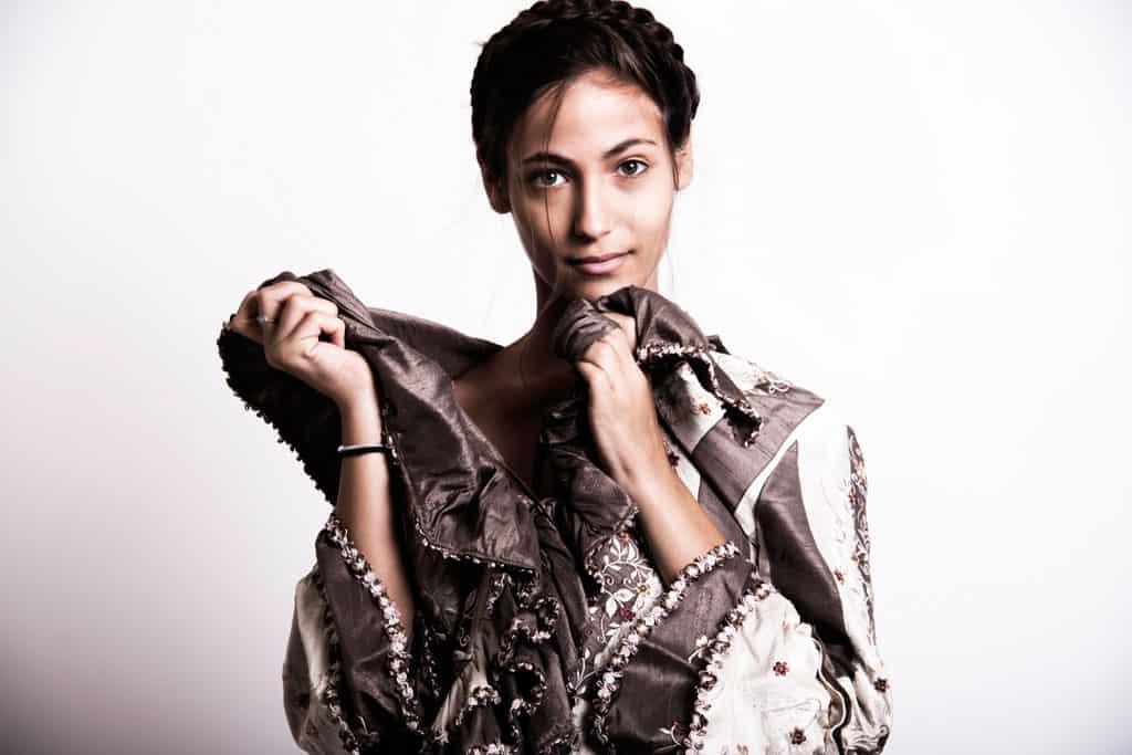 הדוגמנית ענבר יעקבי. צילום: סולל פיקל - 2