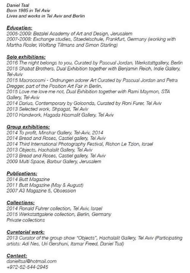 קו''ח דניאל צאל, דניאל צאל הוא זוכה פרס לורן ומיטשל פרסר לצלם ישראלי צעיר, מוזיאון תל אביב לאמנות, 2018, אופנה, Fashion, מגזין אופנה ישראלי, אופנה ישראלית, Fashion News, חדשות אופנה 2018, Fashion Articles, מגזין אופנה, Fashion Magazine, כתבות אופנה 2018, Efifo, מגזין אופנה אונליין, Photography, מגזיני אופנה ישראלים, מגזין אופנה 2018, עיתון אופנה 2018, סטייל -