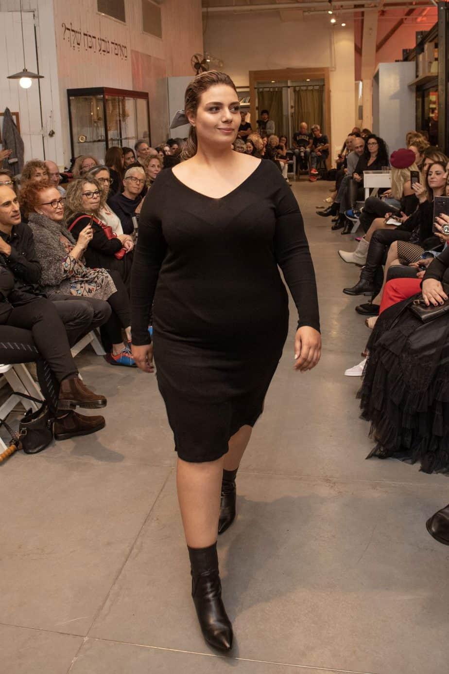 קום איל פו. תצוגת אופנה סתיו חורף 208-19. צילום: יניב לוי -29