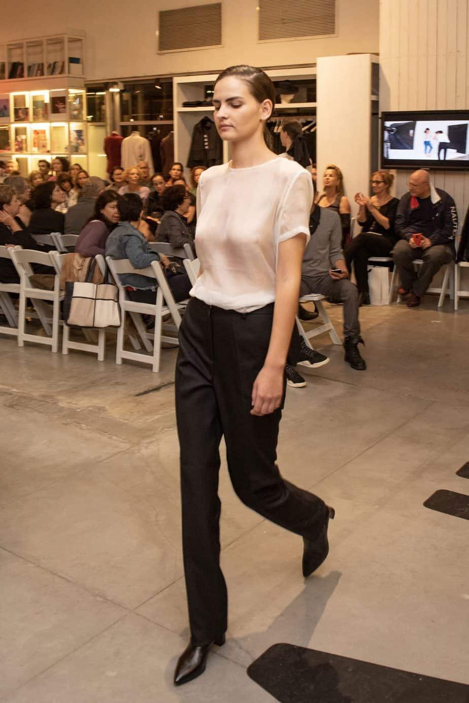 קום איל פו. תצוגת אופנה סתיו חורף 208-19. צילום: יניב לוי -31