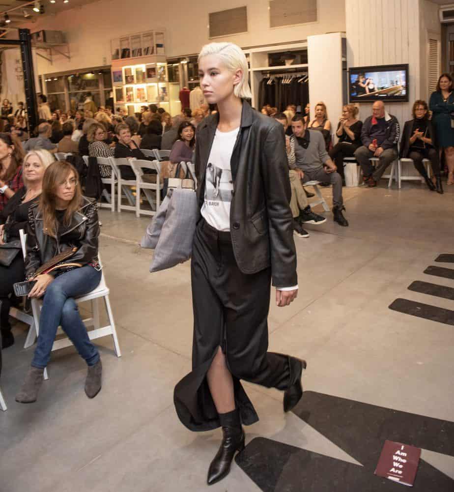 קום איל פו. תצוגת אופנה סתיו חורף 208-19. צילום: יניב לוי -242