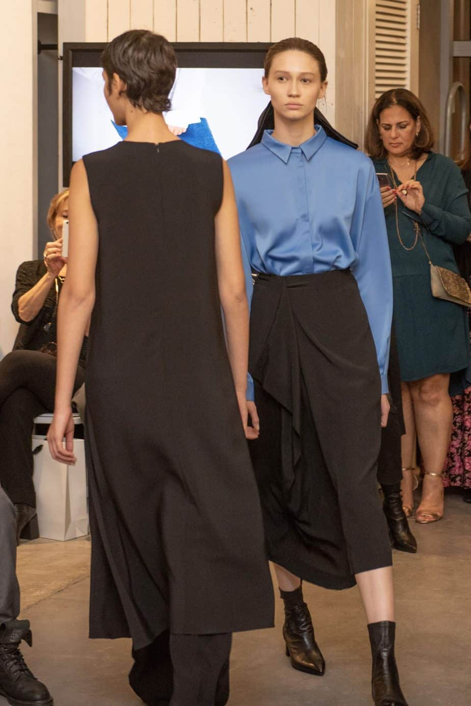 קום איל פו. תצוגת אופנה סתיו חורף 208-19. צילום: יניב לוי -2985