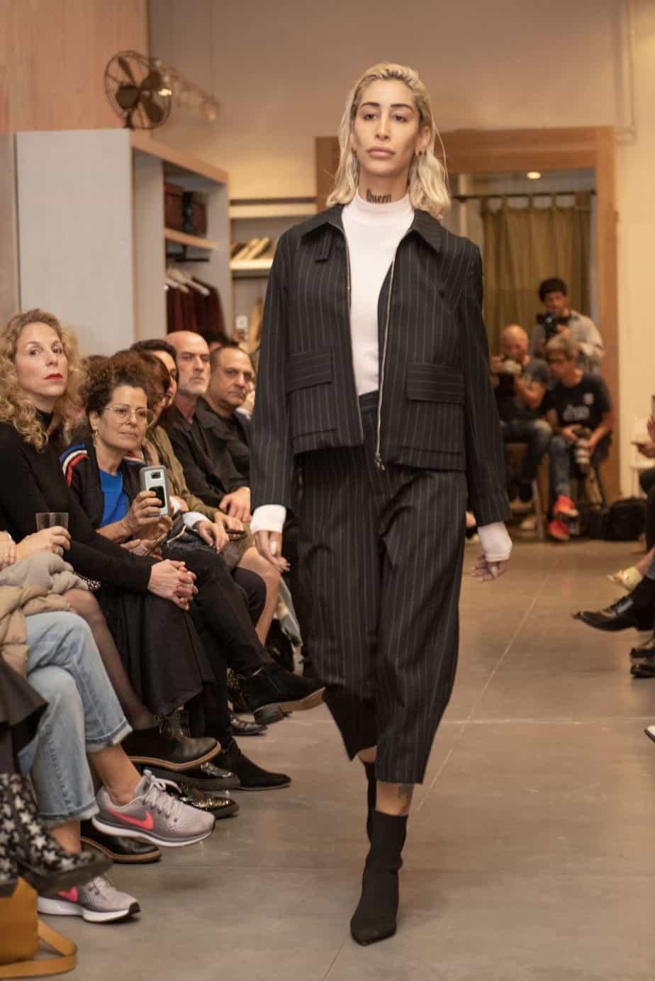 קום איל פו. תצוגת אופנה סתיו חורף 208-19. צילום: יניב לוי -32655