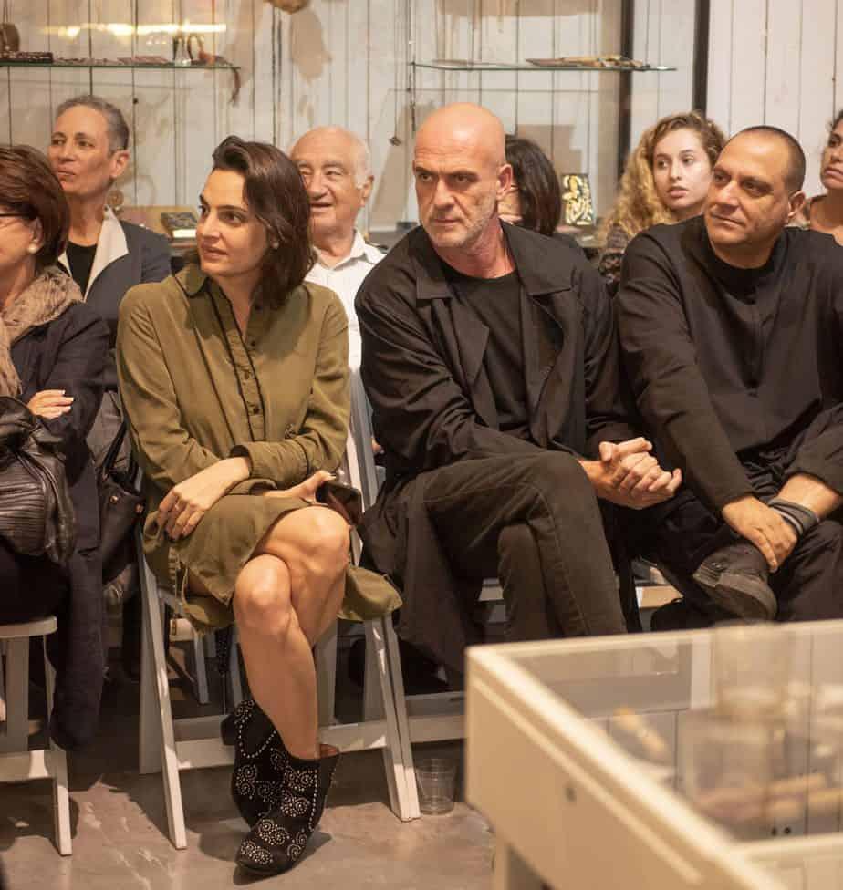 קום איל פו. תצוגת אופנה סתיו חורף 208-19. צילום: יניב לוי -2145