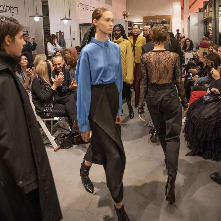 קום איל פו. תצוגת אופנה סתיו חורף 208-19. צילום: יניב לוי -4