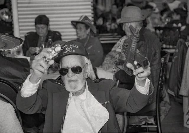 פורים 2018: מסיבת תחפושות של קשישים משכונת עזרא ומשכונת התקווה. צילום: מיטל אזולאי - 18