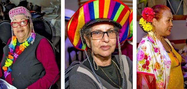 פורים 2018: מסיבת תחפושות של קשישים משכונת עזרא ומשכונת התקווה. צילום: מיטל אזולאי - 3