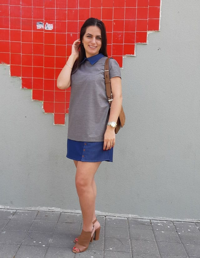 שמלת סיקסטיז של נטלי עמר. צילום: יח״צ