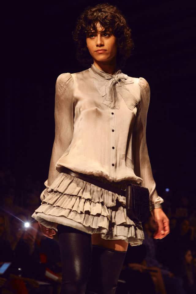 תצוגת האופנה של ויוי בלאיש בשבוע האופנה תל אביב, vivi bellaish, צילום: עומר רביבי - 3