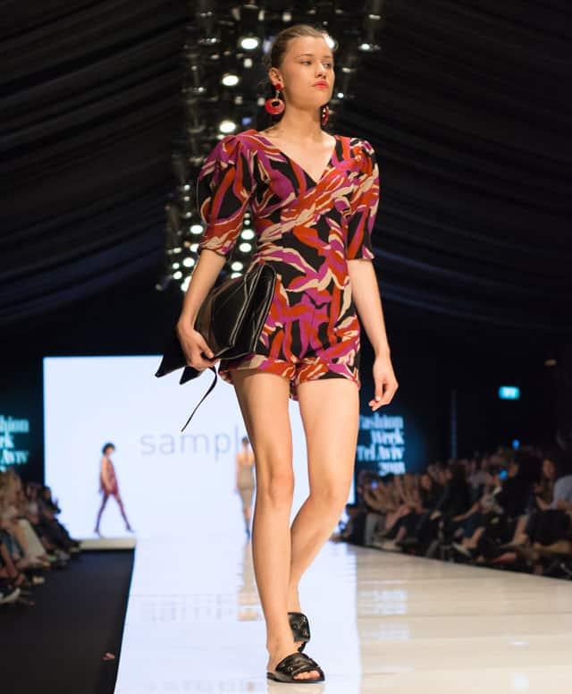 תצוגת sample בשבוע האופנה תל אביב, סמפל, צילום: מיטל אזולאי, - 1