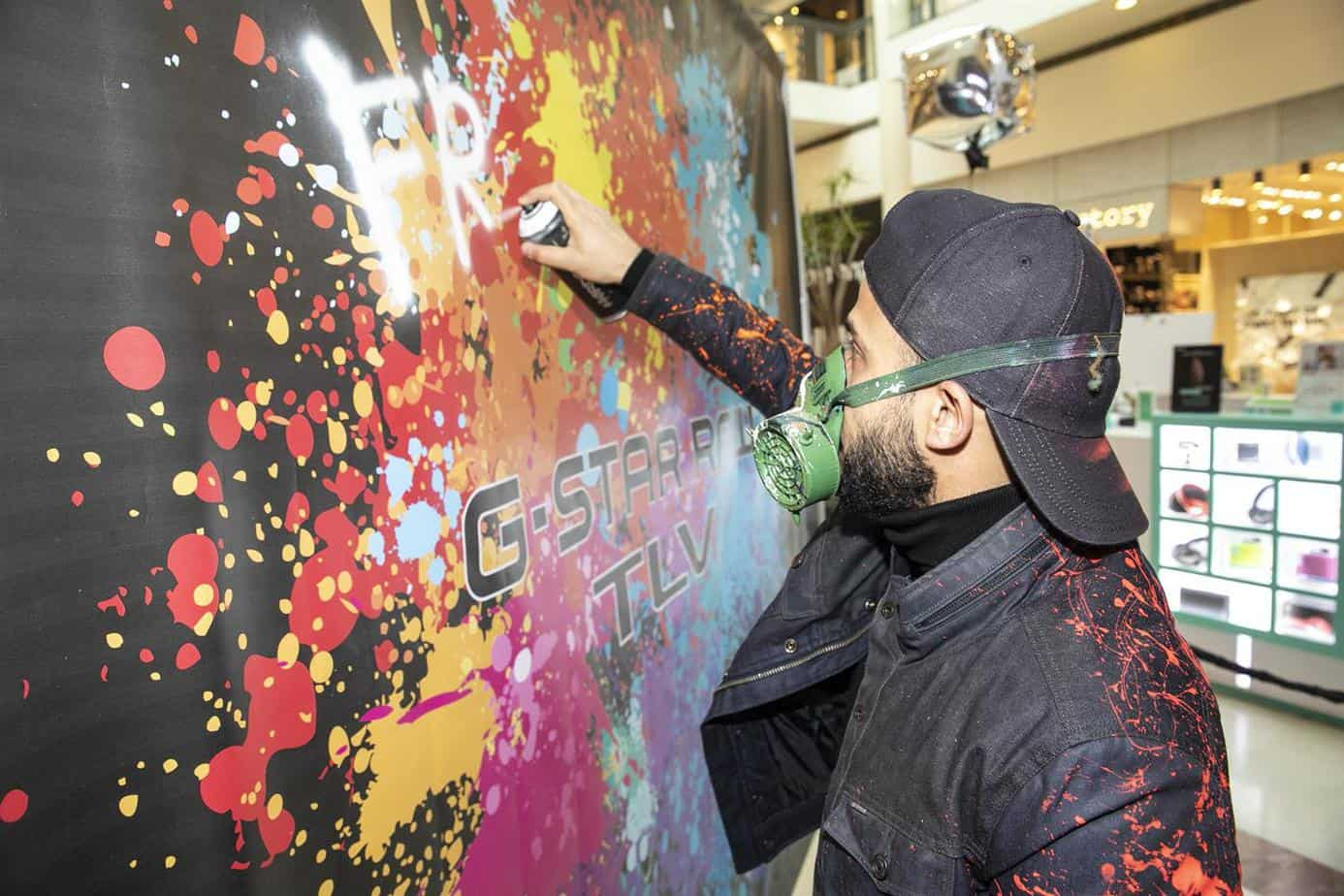 אליאור יוסף בפתיחת ג'י סטאר בקניון רמת אביב. צילום: לנס הפקות