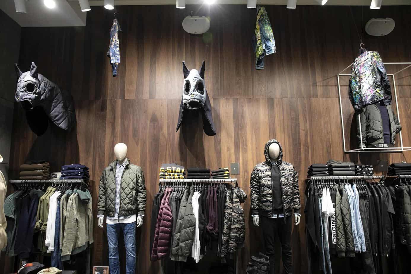החנות החדשה. ג'י סטאר קניון רמת אביב. צילום: לנס הפקות
