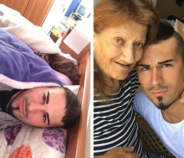 בן לאן והסבתא שלו