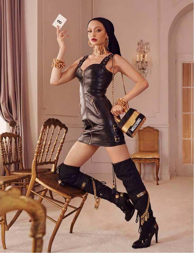 ג'יג'י חדיד. קמפיין פרסומי לקולקציית MOSCHINO [tv] H&M, אופנה, מגזין אופנה, חדשות אופנה, כתבות אופנה, Fashiom Magazine, Fashion, Efifo ,מגזין אופנה ישראלי, מגזין אופנה ועיצוב, עיתון אופנה, מגזין אופנה אונליין, טרנדים, סטייל