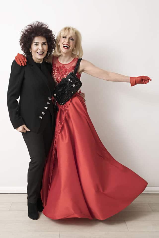Efifo, מגזין אופנה ישראלי - קיפלינג. גילת אנקורי ורזיאלה גרשון. צילום: אלכס ליפקין