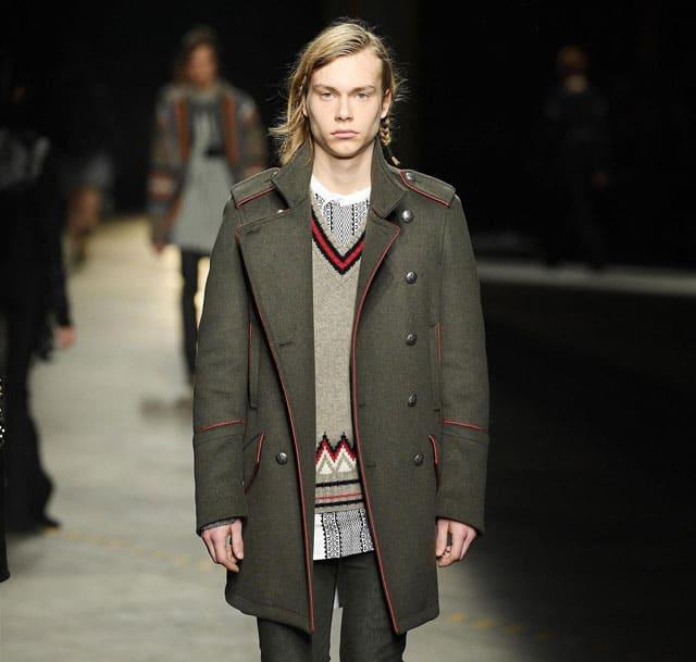 תצוגת אופנה של דיזל בלאק גולד בשבוע האופנה לגברים מילאנו. צילום: אינסטגרם - 1