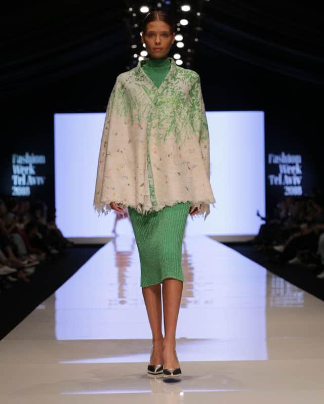 שבוע האופנה תל אביב. דנה כהן. צילום: אבי ולדמן -1