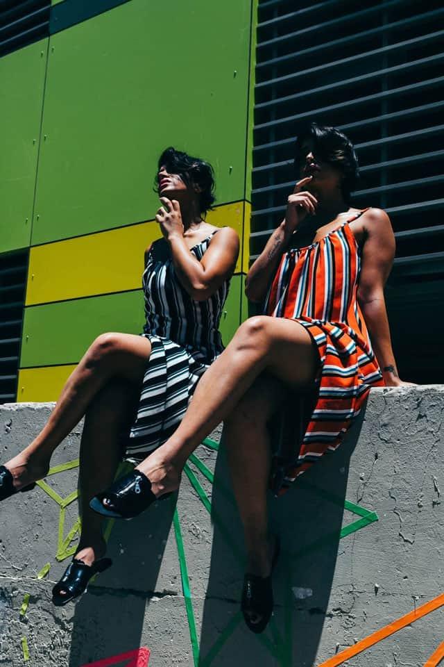 סטיילינג: מאי לוי - שנקרסטיילינג פרו, צלם: גיא אביב,דוגמניות:התאומות מלול twins malul,איפור: שובל סירי, אופנה: ״בלאגן״ - נתניה,Photography: Guy Aviv, Styling: May Levi, Models: Edi & Mery Malul, Makeup: Shoval Siri, Clothes: Balagan4
