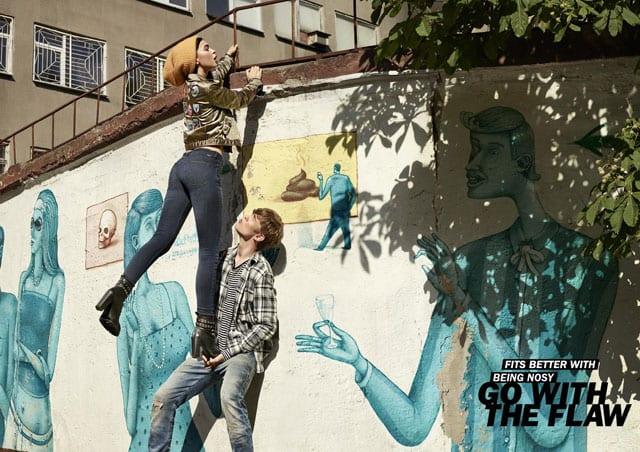GO WITH THE FLAW. קמפיין דיזל (DIESEL) העולמי. צילום: קמילה סימון-3