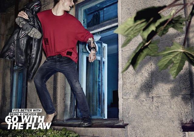 GO WITH THE FLAW. קמפיין דיזל (DIESEL) העולמי. צילום: קמילה סימון-6