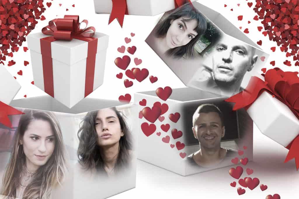 מערכת Efifo בוחרים מתנות לולנטיין 2018.