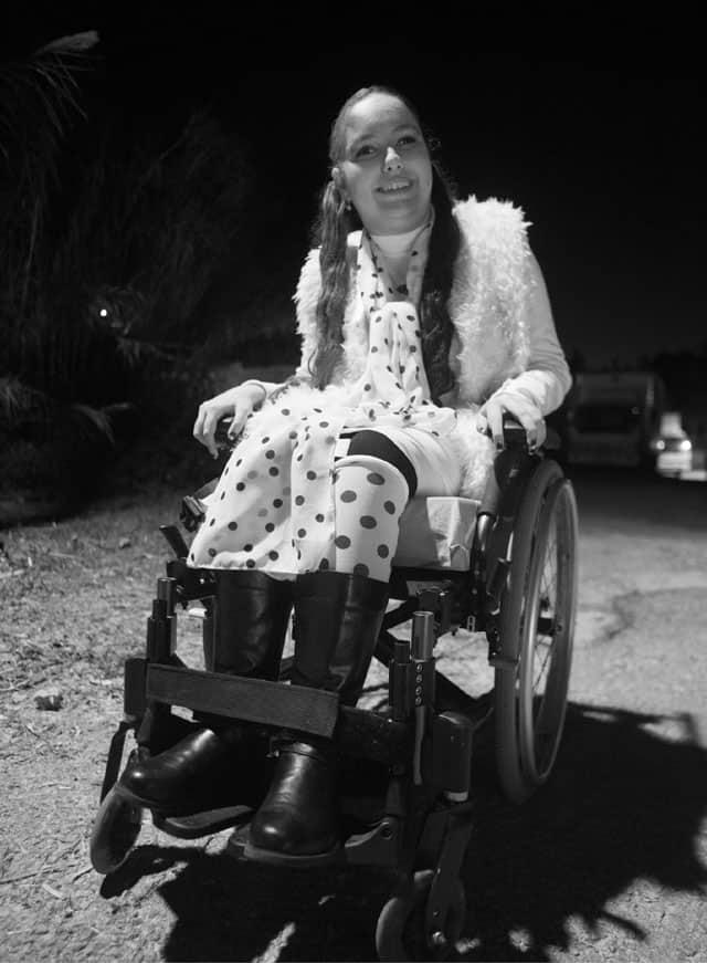 פורים 2018. בתמונה: חן פס מחופשת לקרואלה דה ויל. צילום: שגב אורלב - 2