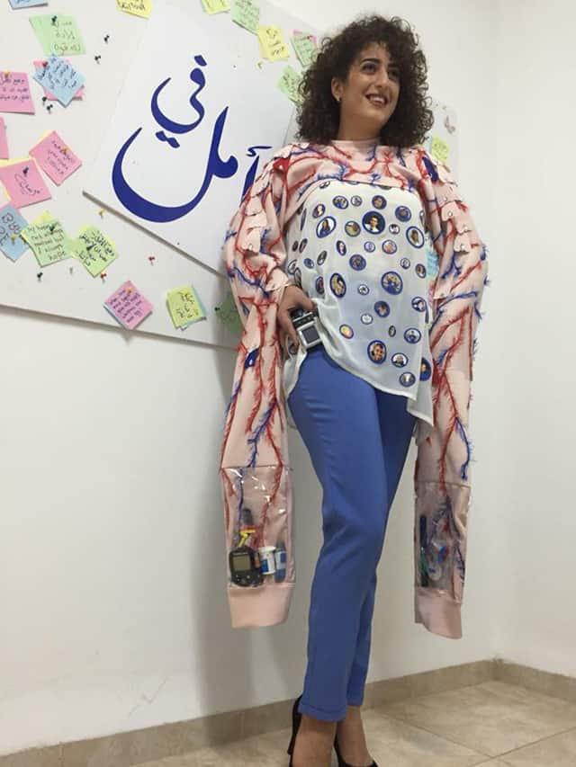 חנאן אחמד, המחלקה לעיצוב אופנה - המרכז האקדמי ויצו חיפה. צילום: יח״צ