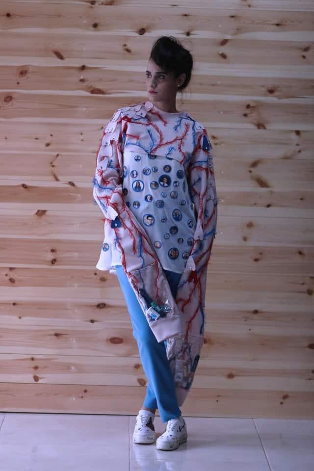 סוכרת נעורים. פרויקט אופנה של חנאן אחמד, המחלקה לעיצוב אופנה - המרכז האקדמי ויצו חיפה. צילום: יח״צ, אופנה, מגזין אופנה, מגזין אופנה ישראלי - 4