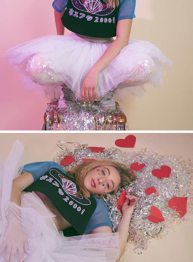 צילום מלכיאלה בן שבת, טופ Zen.Dress.Cut, חצאית וטייץ אוסף פרטי, נעליים נייקי, מגזין אופנה, אפיפו2-1